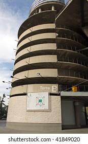 Santiago Bernabeu Fußballstadion von Real Madrid