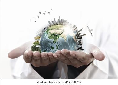 Cuida y protege nuestro planeta