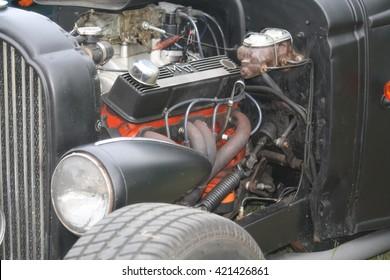 Amerikaanse Hot Rod-motor