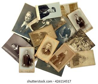 Familiearchief: oude foto's tonen de genealogie