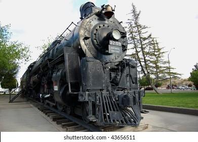 engine #3759 in locomotive park, kingsman arizona