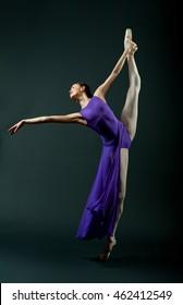 Grand Batman lilac ballerina