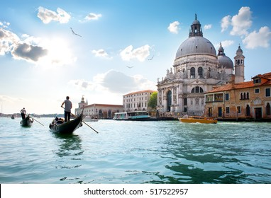 Alte Kathedrale von Santa Maria della Salute in Venedig, Italien
