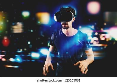 Futuristisches Multimedia