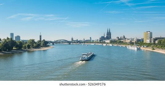 vista de Colonia, Alemania Hermosa foto de viaje