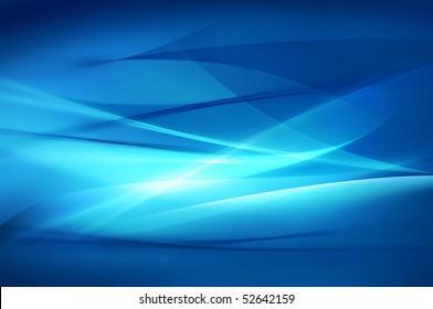 Abstrakte blaue Hintergrund-, Wellen- oder Schleierbeschaffenheit