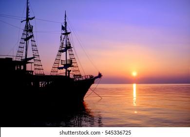 Piratenbucht in der Ägäis
