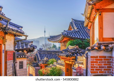 Selo Bukchon Hanok u Seulu, Južna Koreja