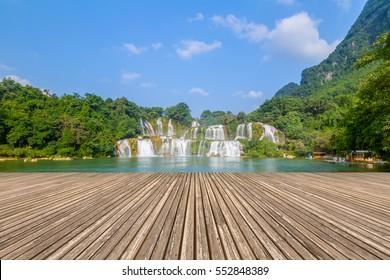 Der spektakuläre Wasserfall Detian