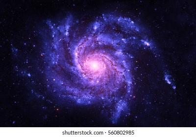 Spiral Galaxy - Elemente dieses Bildes von der NASA eingerichtet