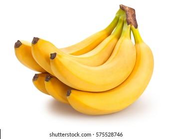 bananencluster geïsoleerd
