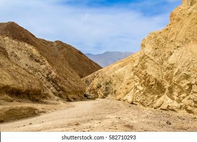 Drehort für Star Wars Golden Canyon
