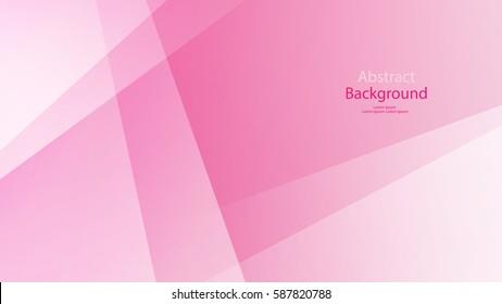 ピンクと白の色の背景の抽象芸術ベクトル