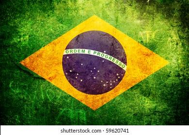 ブラジルの州の古いグランジフラグ