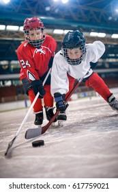 Eishockeysport Jungen Spieler