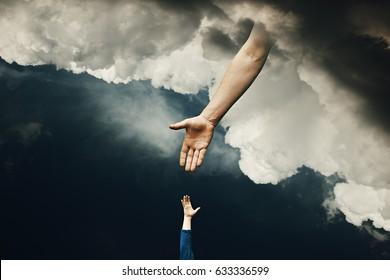 Helping Hand of God Mercy