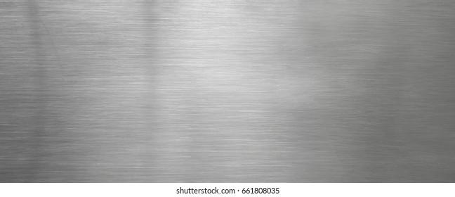 Hintergrundstruktur der gebürsteten Stahlplatte horizontal