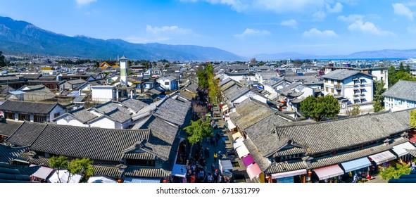 Ciudad antigua de Yunnan, Dali, China