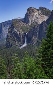 Bridalveil Falls, Yosemite-Nationalpark, Kalifornien, USA