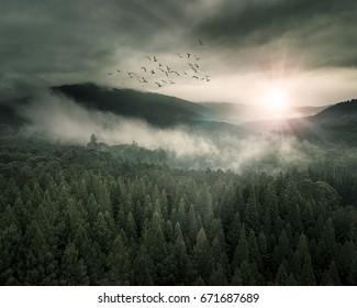 Epic Fantasy Landscape