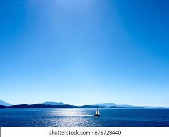 Ionisches Meer, Lefkada, Griechenland