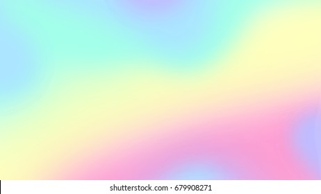 Holographic neon background