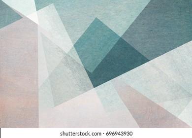 abstraktes Design auf blauem Hintergrund - strukturiertes Papier mit Aquarellen
