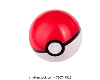 plastic game toy ball isolated