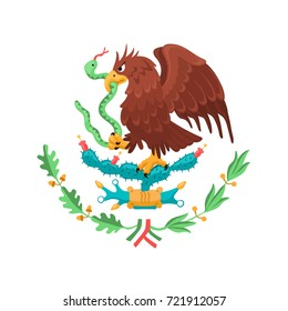 Escudo Nacional Mexicano Logo Vector Eps Free Download