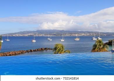 Schwimmbad an der Pointe du Bout - Trois-Ilets - Martinique