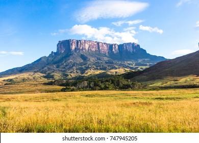 Mount Roraima in Venezuela, South America.