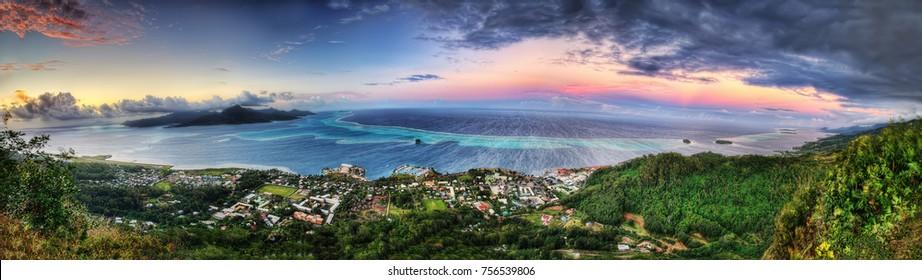 Raiatea, Polinesia Francesa tomada en 2015