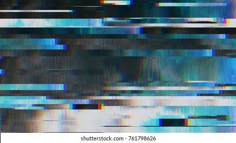 Erro de vídeo de falha de ruído de pixel digital abstrato de design exclusivo