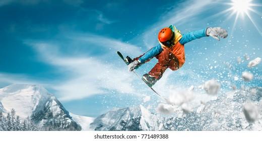 Snowboard Snowboard Snowboarder