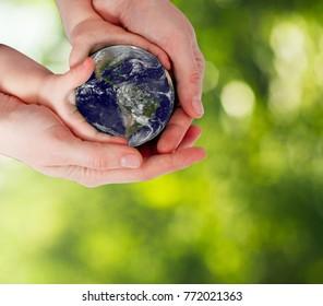 Protege la tierra, nuestro planeta