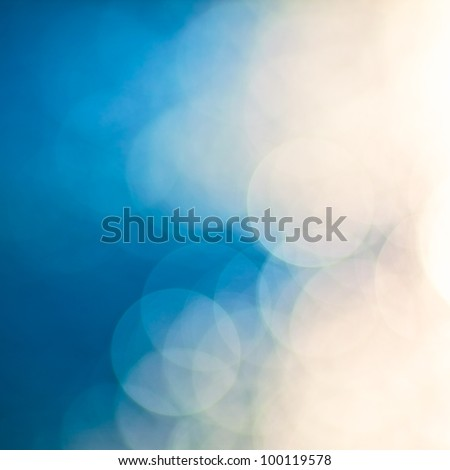 bright colorful sun and sea bokeh background #100119578