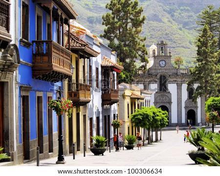 Teror, Gran Canaria, Canary Islands, Spain Royalty-Free Stock Photo #100306634