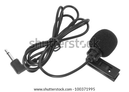 Clip-on microphone