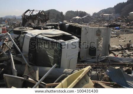The Great East Japan Earthquake in Iwate #100431430