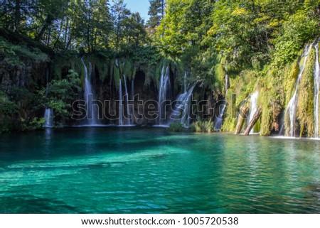 Plitvice lakes national park #1005720538