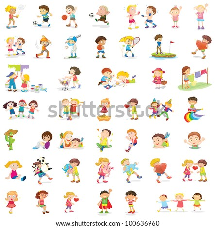 People illustration on white background - EPS VECTOR format also available in my portfolio.