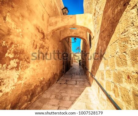 Victoria, Gozo island, Malta: the Cittadella, also known as Citadel, Castello