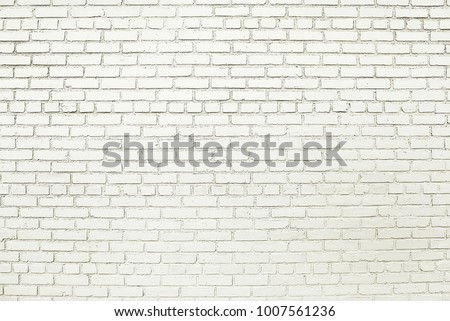 Old white brick wall background texture close up #1007561236