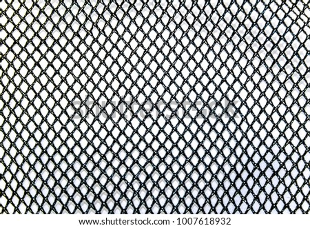 Mesh fabric as background #1007618932