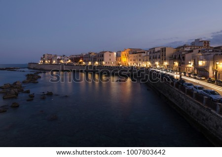 City Lights in Siracusa #1007803642