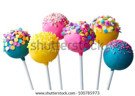 Cake pops Royalty-Free Stock Photo #100785973