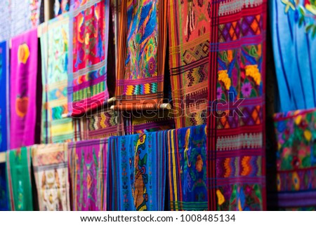Traditional Woven Fabric #1008485134