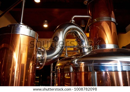 Equipment for the preparation of beer  #1008782098