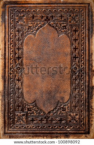Old Book Cover #100898092