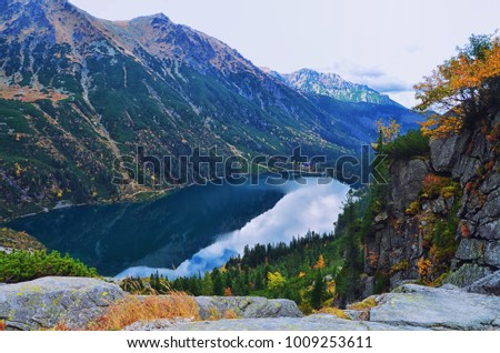 Morskie Oko lake in Tatra National Park #1009253611